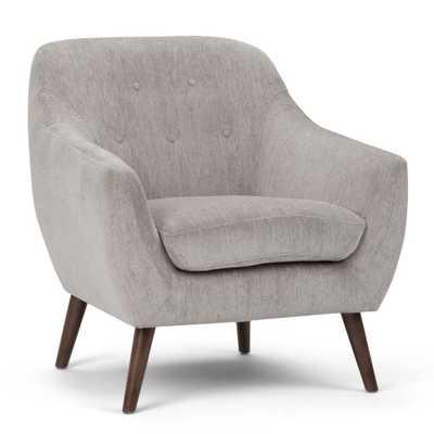 Brennley Dove Grey Arm Chair - Home Depot