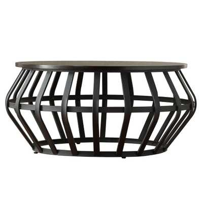 Pollard Black Coffee Table - Home Depot