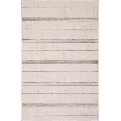 "Annie Ivory/Sand Indoor/Outdoor Area Rug - 8'3""x10' - Wayfair"