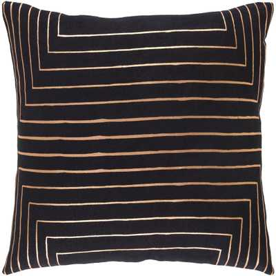 Shrewsbury Poly Euro Pillow, Blacks - Home Depot