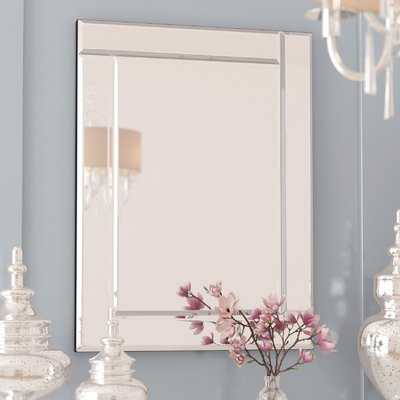 Contemporary Framed Accent Wall Mirror - Wayfair