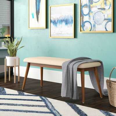 Gracie Upholstered Bench - Wayfair