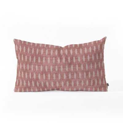 Holli Zollinger Geometric Lumbar Throw Pillow Red - Deny Designs - Target