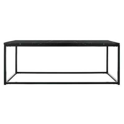 Safavieh Baize Black Coffee Table - Home Depot