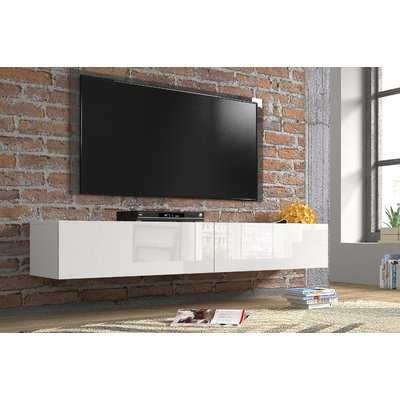 Patty High Gloss TV Stand for TVs up to 78 - Wayfair