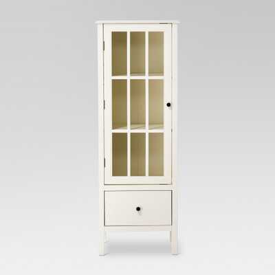 Windham 56 Narrow Library Cabinet with Door/Drawer Shell (White) - Threshold - Target