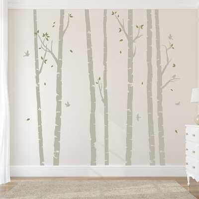 Birch Tree Forest Wall Decal - Birch Lane