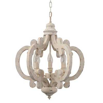 Kacie Cottage Crown 6-Light Candle Style Chandelier - Wayfair