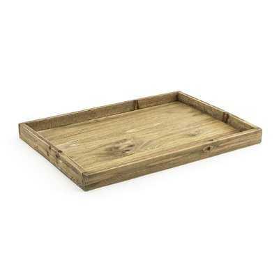 Rustic Wood Tray - AllModern