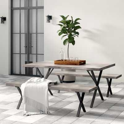 Noreen 3 Piece Outdoor Dining Set - Birch Lane
