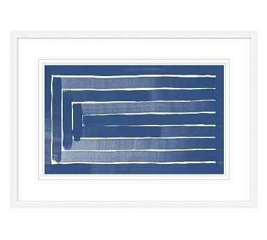 Linear Blues 1 - Pottery Barn