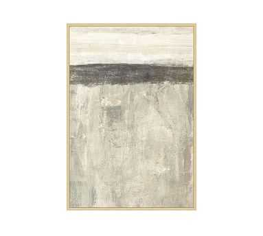 "Neutral Sense 1 Framed Canvas, 31.5"" x 45.5"" - Pottery Barn"