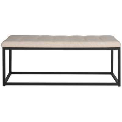 Lembus Upholstered Bench - Wayfair