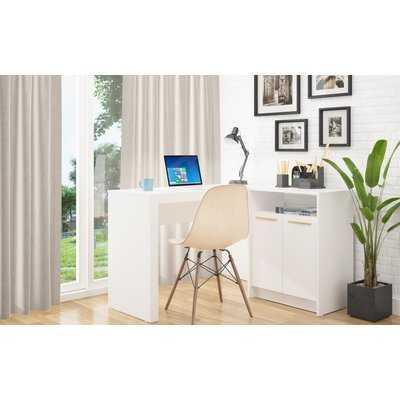 Zänger L-Shape Writing Desk - Wayfair