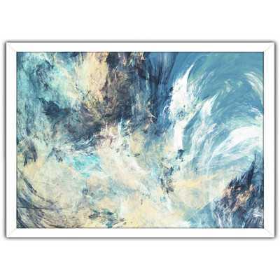 "Feeling Blue"" Framed Painting Print - Wayfair"