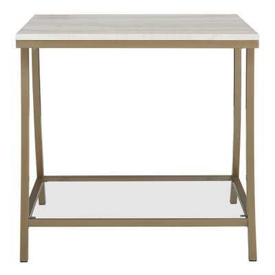 Eos Side Table Brass - Dorel Living - Target