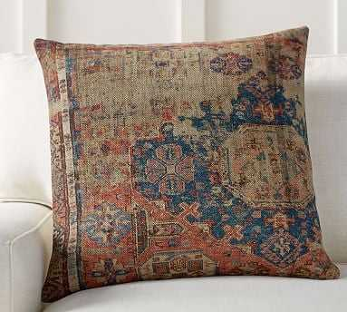 "Navin Print Pillow Cover, 22"", Multi - Pottery Barn"