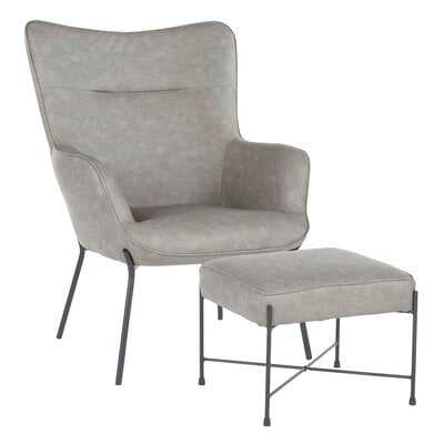 Tedeschi Lounge Chair and Ottoman - Wayfair