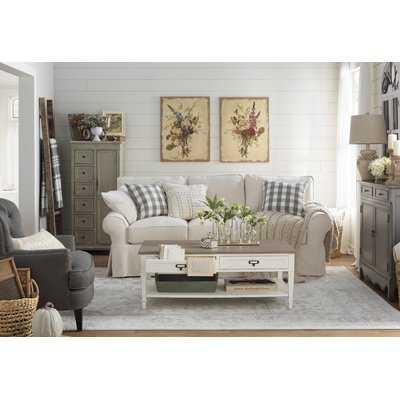 Aiken Ivory/Silver Area Rug - Wayfair