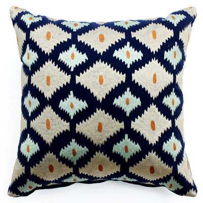Bali Ikat Throw Pillow - Wayfair