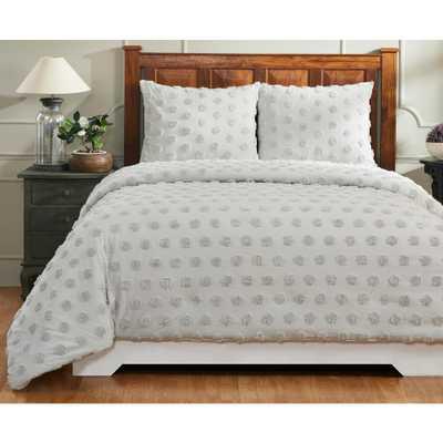Atenia Grey Queen/Full Comforter - Home Depot