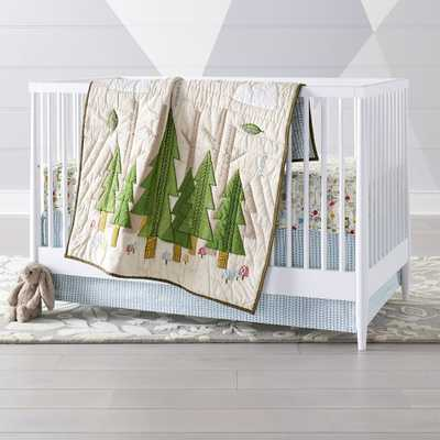 Nature Trail Crib Bedding, 3-Piece Set - Crate and Barrel