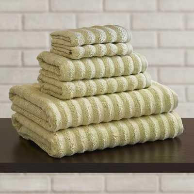 Alverez 6 Piece 100% Cotton Towel Set - Birch Lane