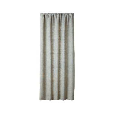 """Reid Abyss Curtain Panel 48""""x96"""" - Crate and Barrel"""
