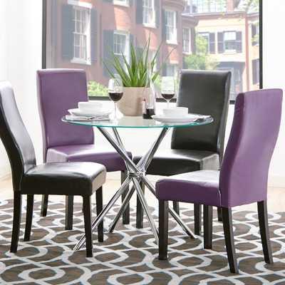 Vince Glass Dining Table - Wayfair