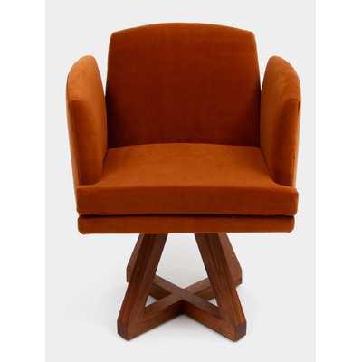 Allison Swivel Base Upholstered Dining Chair - Wayfair