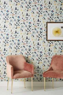 Floral Bliss Wallpaper - Anthropologie