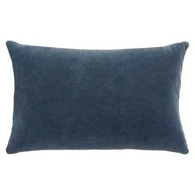 French Connection Kerensa Decorative Lumbar Pillow in Navy - Wayfair