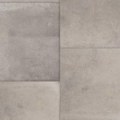 IVC Keaton Grey Stone 13.2 ft. Wide x Your Choice Length Residential Sheet Vinyl Flooring, Grey Terra Cotta - Home Depot