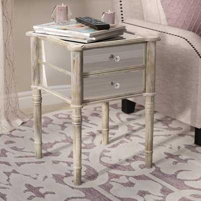 Karle End Table with Storage - Wayfair