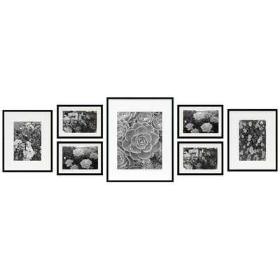 7 Piece Alisson Gallery Wall Aluminum Picture Frame Set - Birch Lane