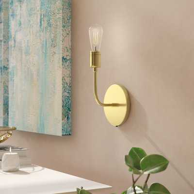 Wallen Single 1-Light Armed Sconce - AllModern