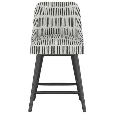 25 Geller Modern Counter Stool White with Black Legs - Project 62 - Target