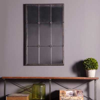 Currie Metal Window Frame Accent Mirror - Wayfair