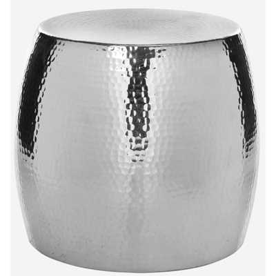 Odin Silver End Table - Home Depot