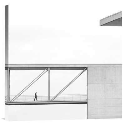 'Across the Bridge' by Klaus Lenzen Photographic Print on Wrapped Canvas - Wayfair