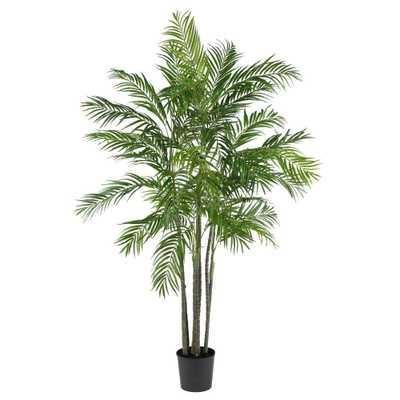 6 ft. Areca Palm Silk Tree - Home Depot