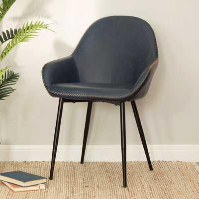 Zosia Mid Century Modern Upholstered Dining Chair (Set of 2) - Wayfair