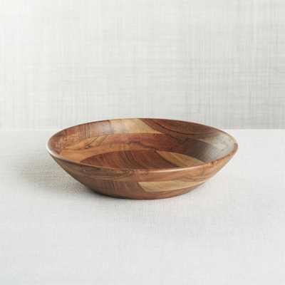 Carson Individual Acacia Bowl - Crate and Barrel