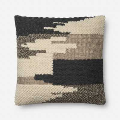 PILLOWS - BLACK - Magnolia Home by Joana Gaines Crafted by Loloi Rugs