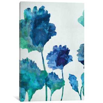 'Blossom Triptych I' Painting Print on Canvas - Wayfair