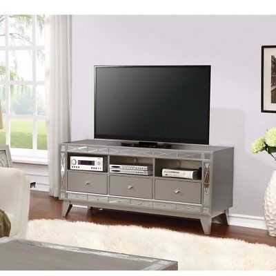 "Rosdorf Park Legler Metallic 58"" TV Stand - eBay"