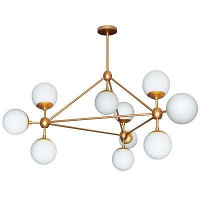 Lyle 10-Light Sputnik Chandelier - AllModern