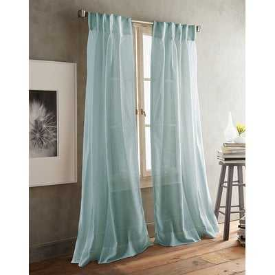 Paradox Inverted Pleat Solid Sheer Curtain Panels - AllModern