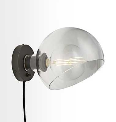 Edendale Angled Plug-In Wall Sconce - Rejuvenation