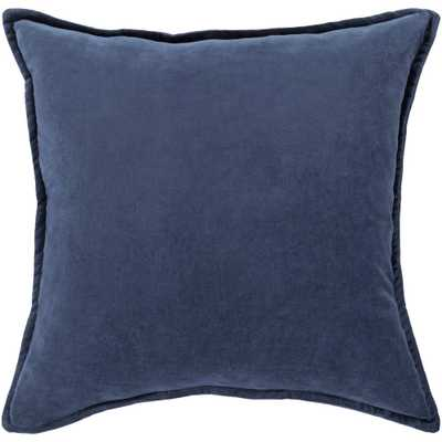 Velizh Poly Euro Pillow, Blue - 18 x 18 - Home Depot